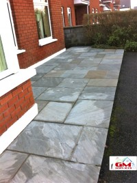 Patio after soft washing by G M Services, Window Cleaning, Soft & Pressure Washing, Cork, Ireland